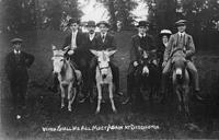 Men On Donkeys - pre1914?