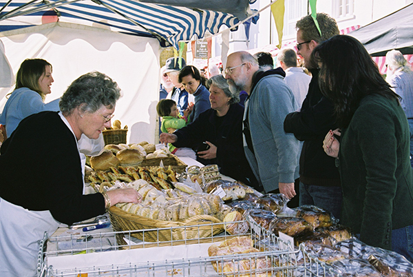 Bread stall 2006