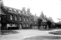 Ilbury House and Post House before reconstruction, d241346a