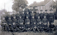 A Banbury TA company with Deddington men