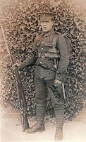 Pte Archie Andrew Gomm - photograph