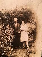 Walter's wife, Leah, with her father-in-law John