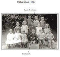 Clifton School 1926 with names