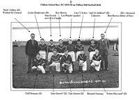 Clifton School Football Club 1933 with names