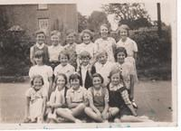 WWII Evacuees at Primary School Summer 1940