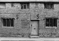 The doorway of the Old School House in Hopcraft Lane